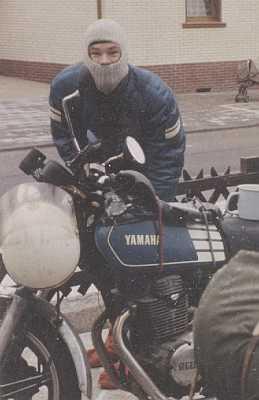 Fleischi mit seiner XS 400